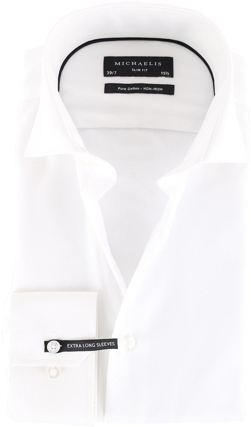 Michaelis Overhemd Wit SL7
