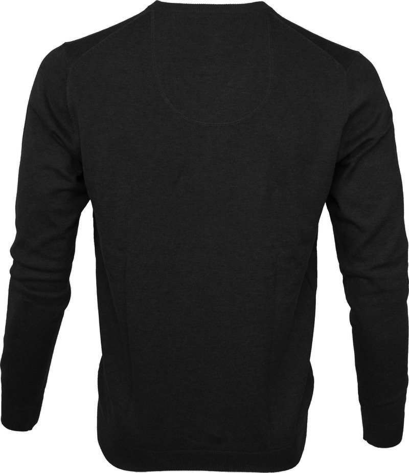 Michaelis Pullover V-Neck Black photo 2