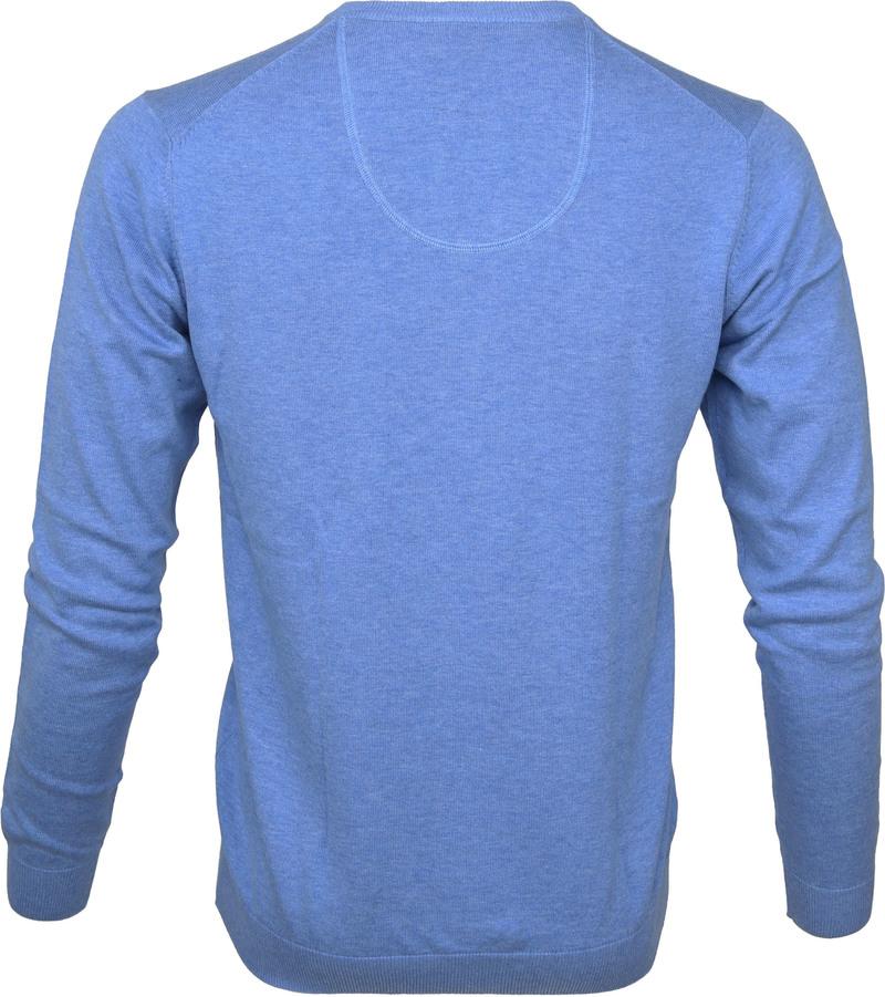 Michaelis Pullover V-Neck Light Blue