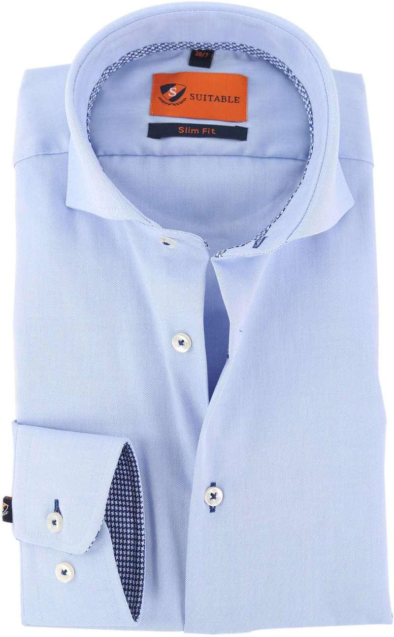 Mouwlengte 7 Overhemd Blauw 150-2  online bestellen | Suitable