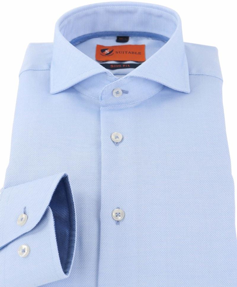 Detail Mouwlengte 7 Overhemd Blauw 150-4