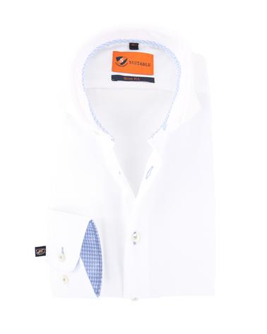 Mouwlengte 7 Overhemd Wit 150-1  online bestellen | Suitable