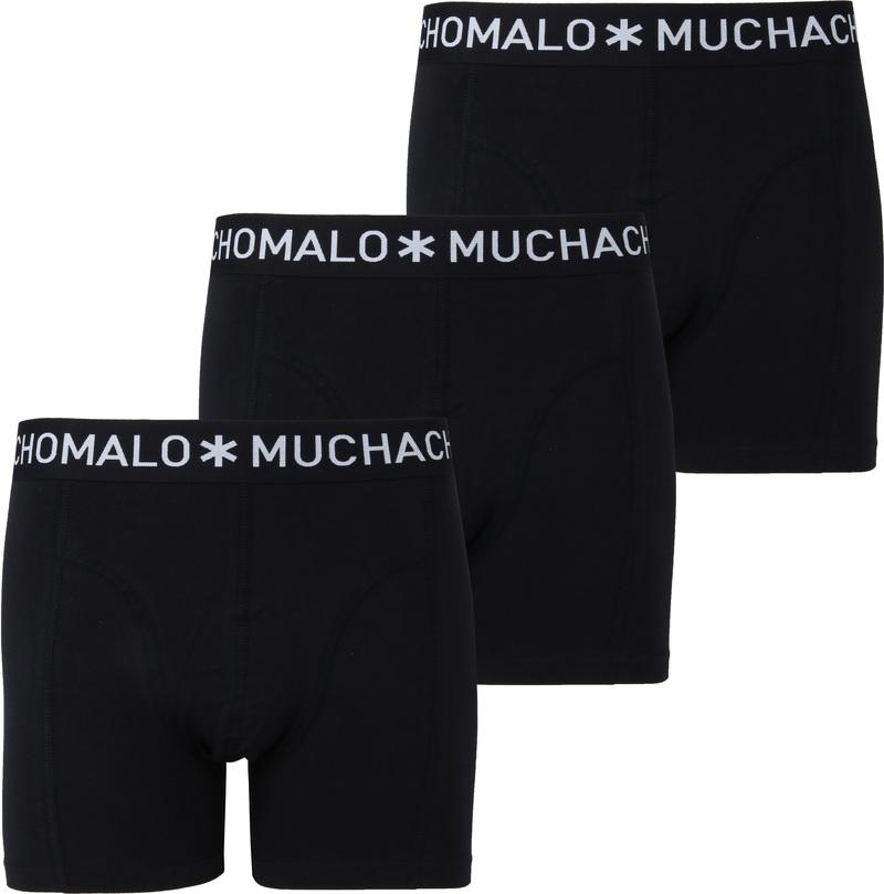 Muchachomalo Boxershorts 3-Pack Black 185 photo 0