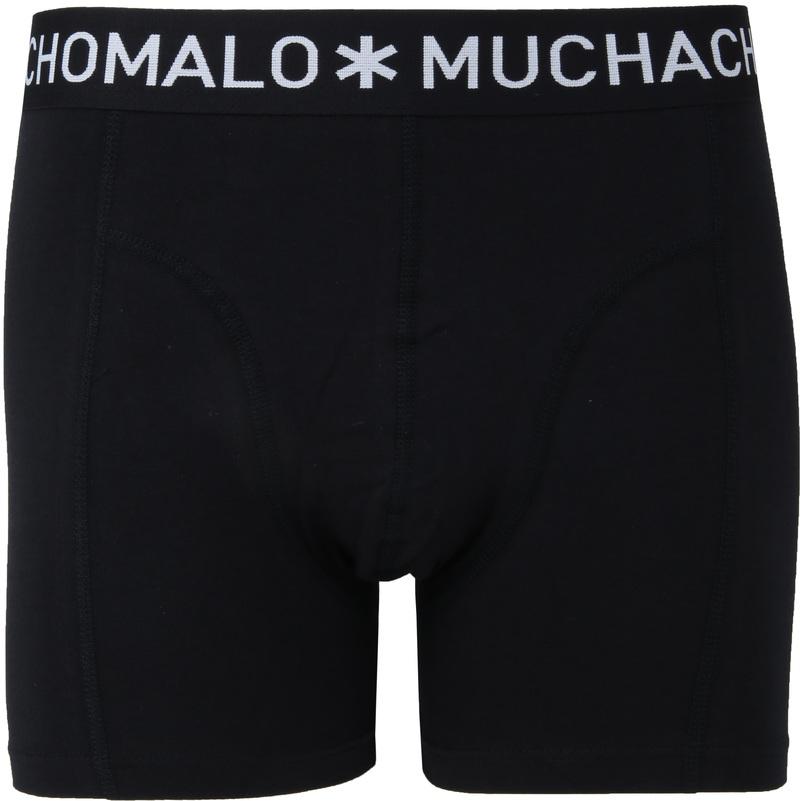 Muchachomalo Boxershorts 3-Pack Zwart 185 foto 1