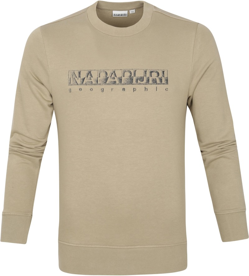 Napapijri Ballar Sweater Beige - Beige maat M