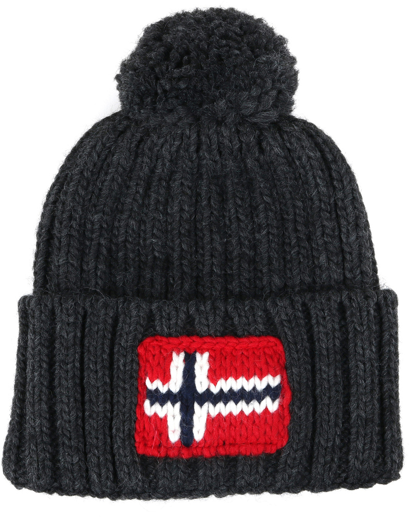 Napapijri Beanie Anthrazit  online kaufen | Suitable