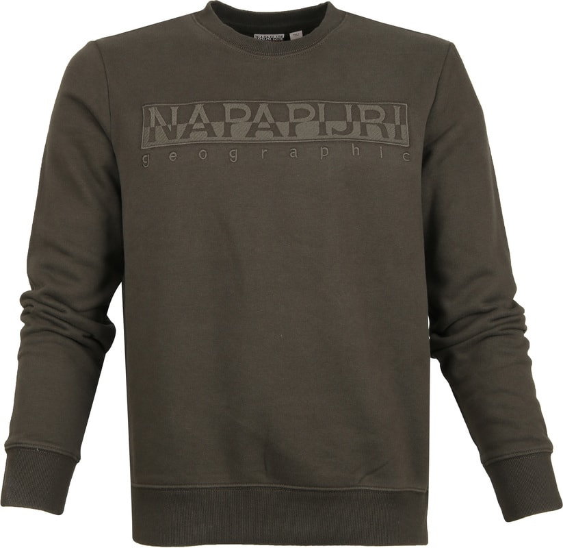 Napapijri Berber Sweater Dark Green photo 0