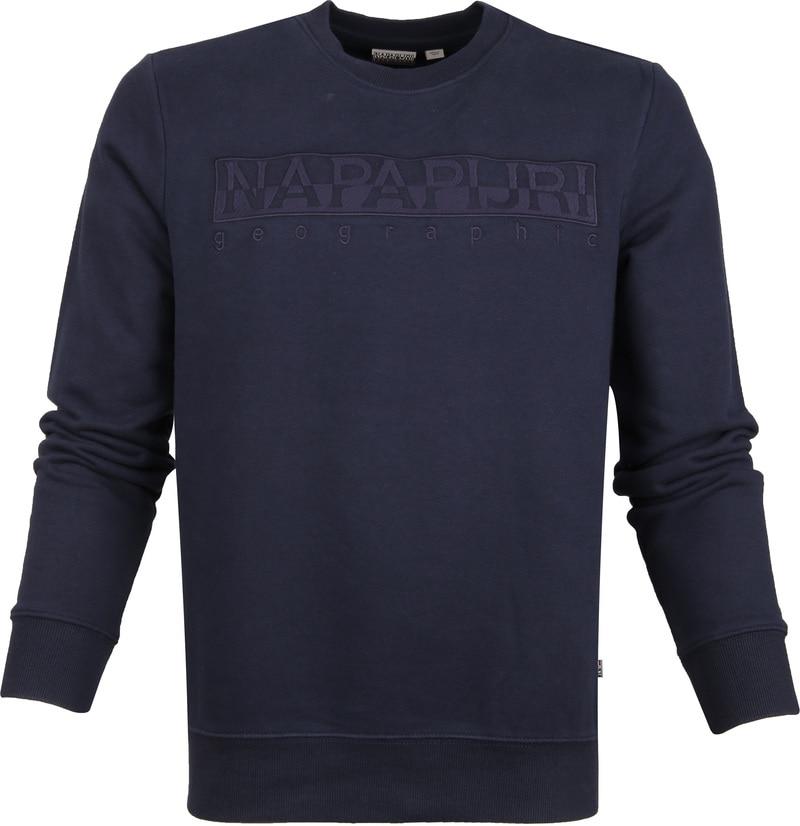 Napapijri Berber Sweater Dunkelblau Foto 0