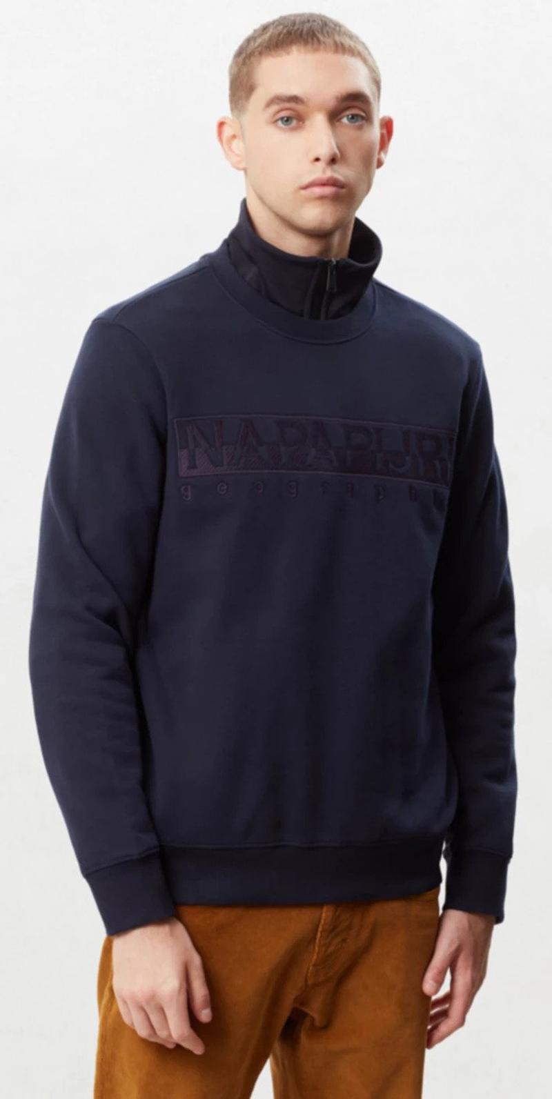 Napapijri Berber Sweater Dunkelblau Foto 4