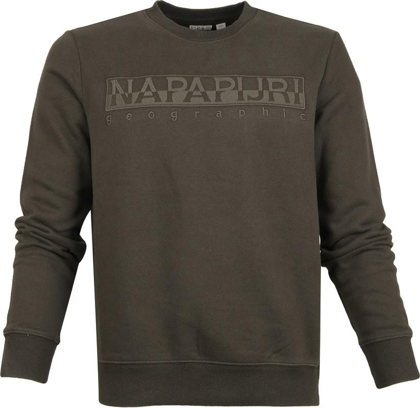 Napapijri Berber Sweater Dunkelgrün Foto 0