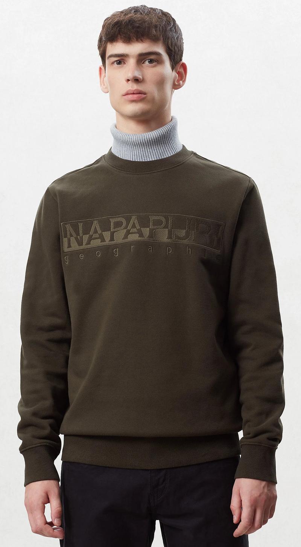 Napapijri Berber Sweater Dunkelgrün Foto 4