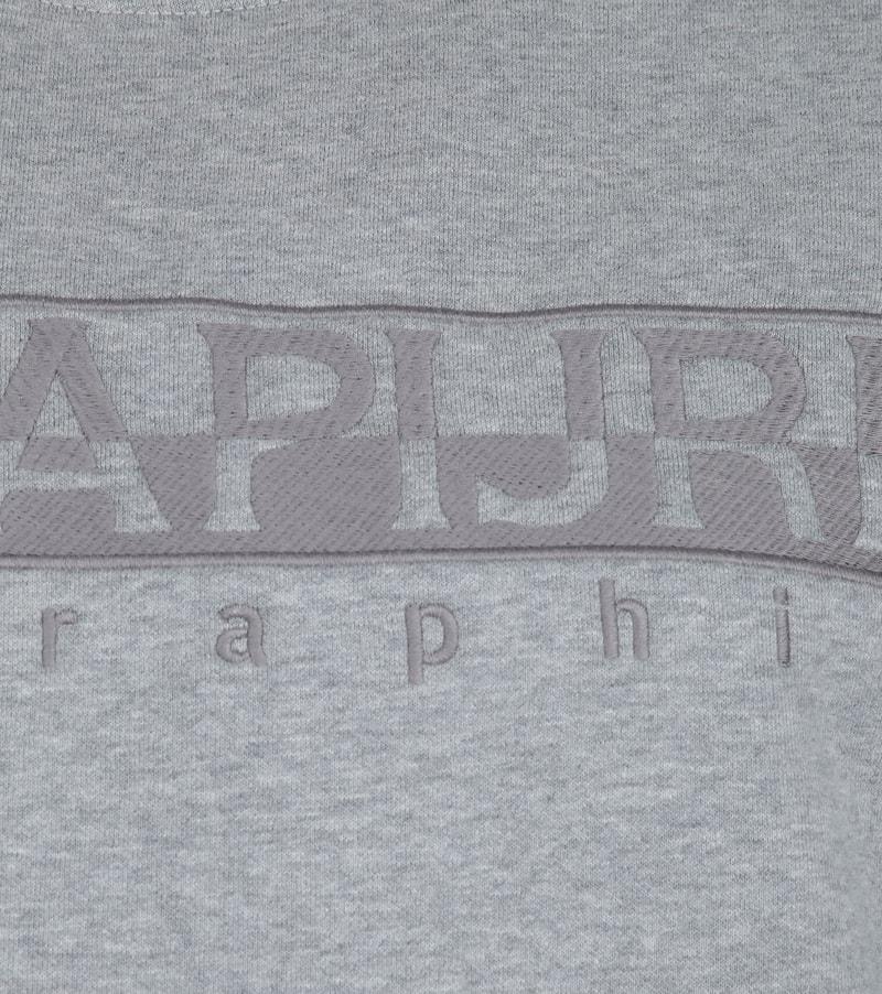 Napapijri Berber Sweater Grau Foto 2