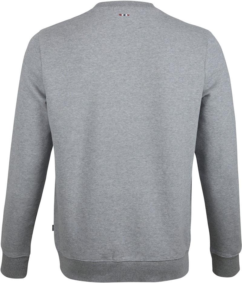 Napapijri Berber Sweater Grau Foto 3