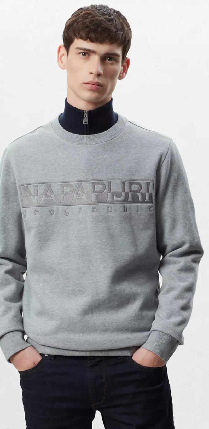 Napapijri Berber Sweater Grau Foto 4