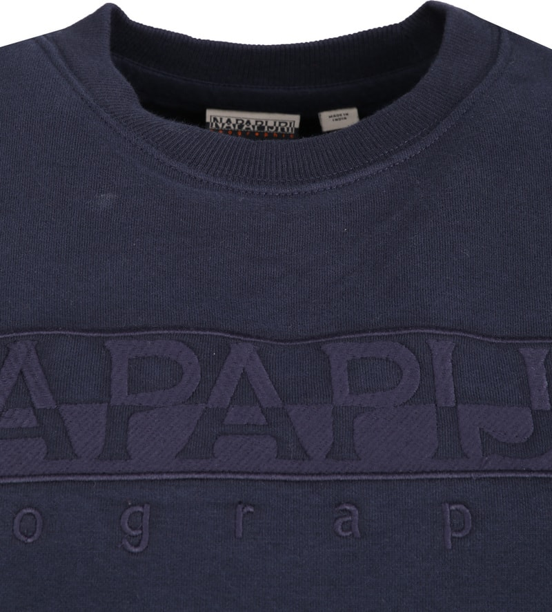 Napapijri Berber Sweater Navy photo 1