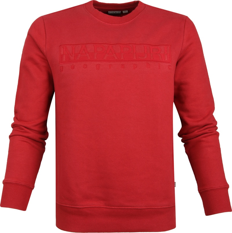 Napapijri Berber Sweater Rot Foto 0