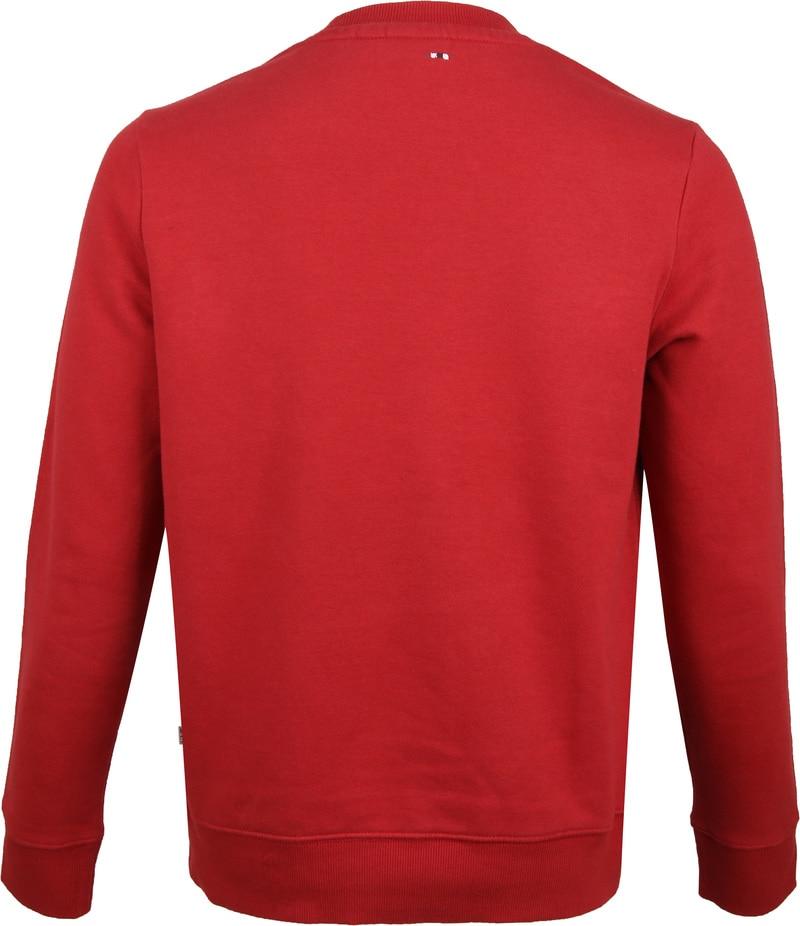 Napapijri Berber Sweater Rot Foto 3
