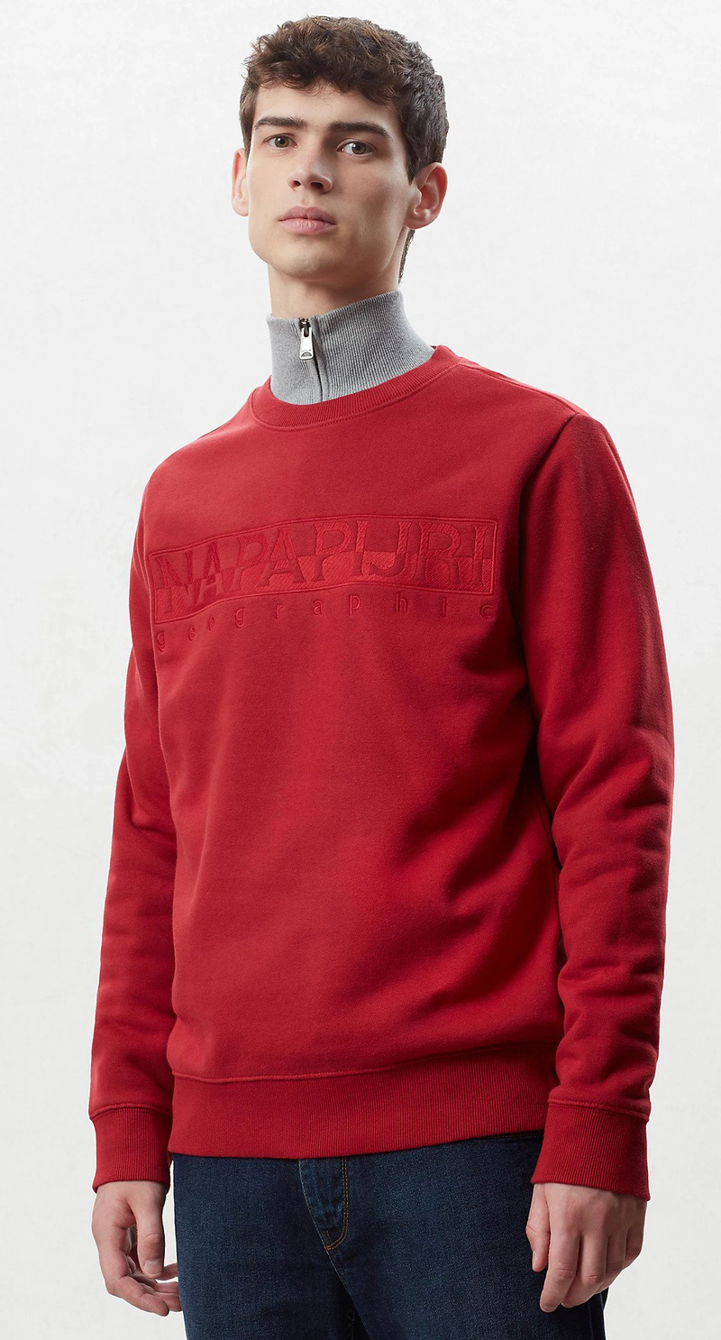 Napapijri Berber Sweater Rot Foto 4
