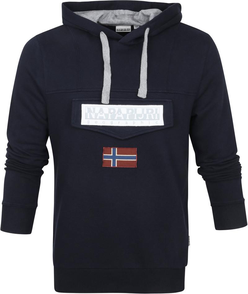 Napapijri Burgee Sweater Donkerblauw