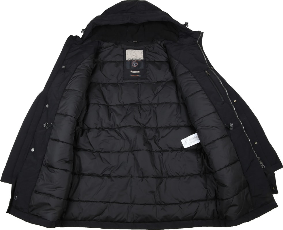 Napapijri Jacket Aberdar Black photo 6
