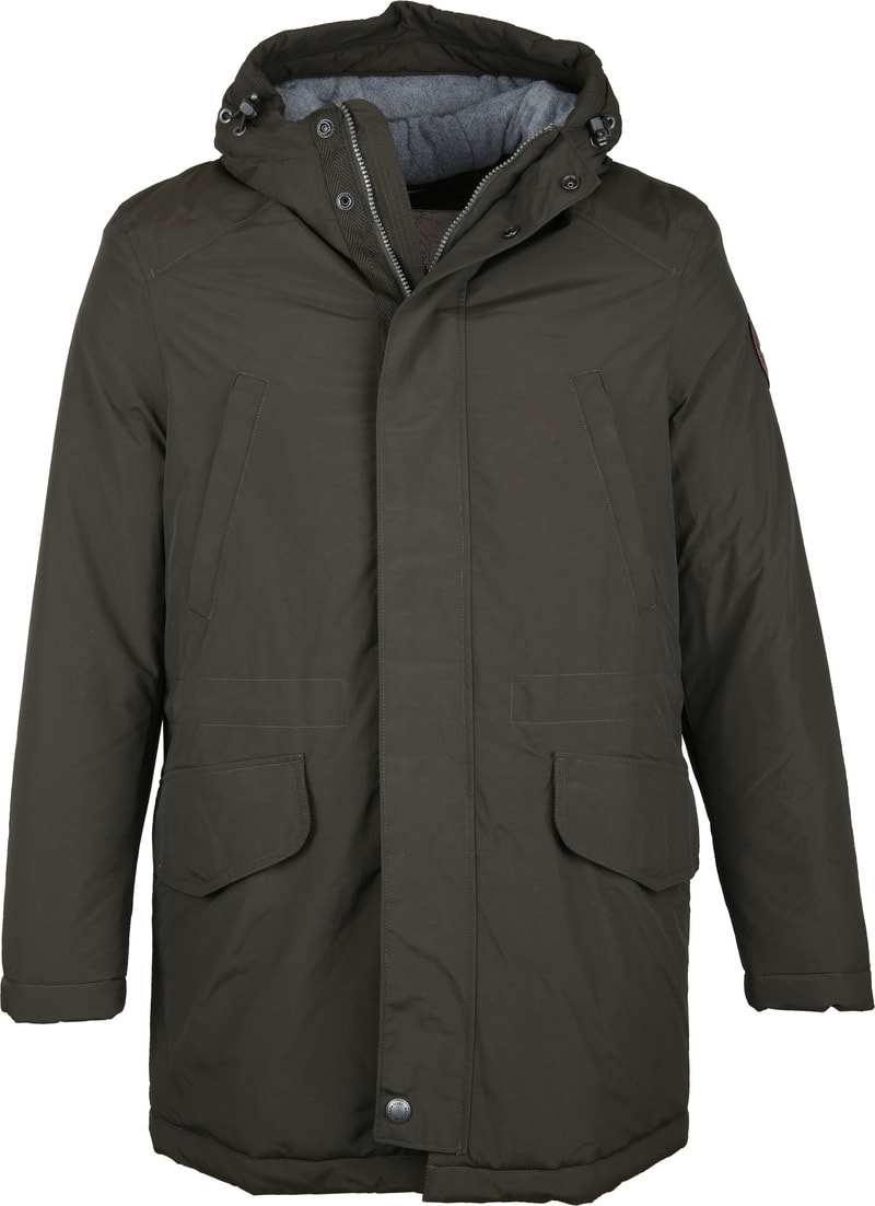 Napapijri Jacket Aberdar Dark Green photo 0