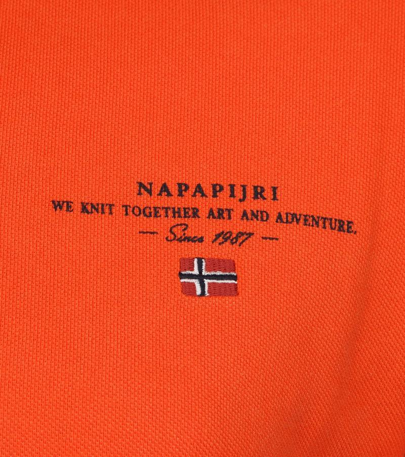 Napapijri Polo Elbas 3 Oranje foto 2
