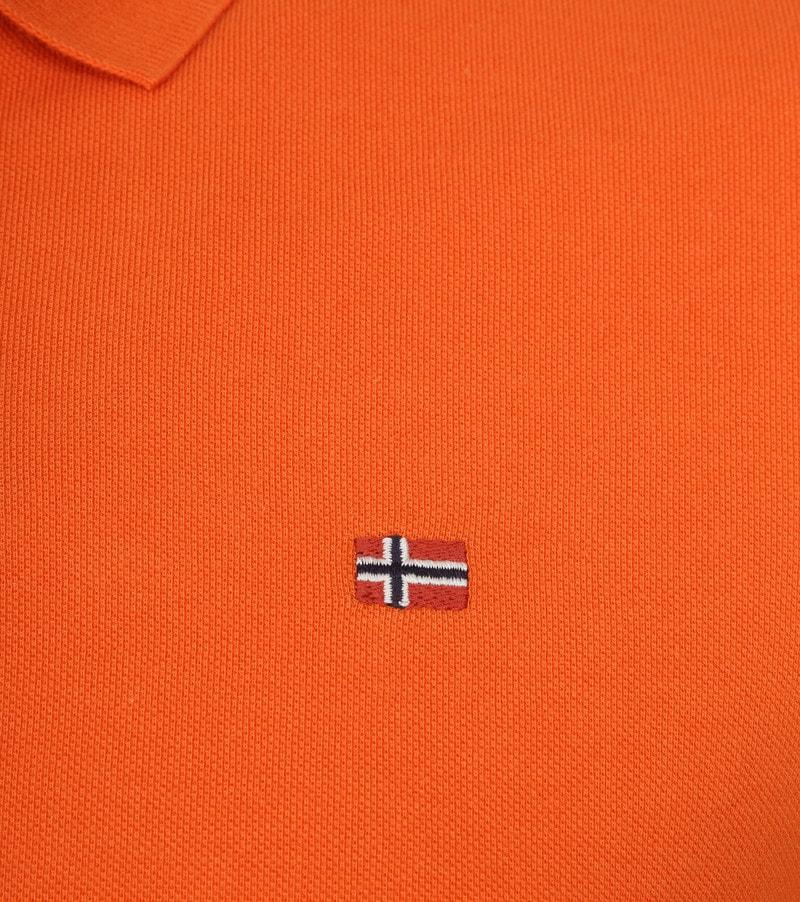 Napapijri Polo Elios Oranje