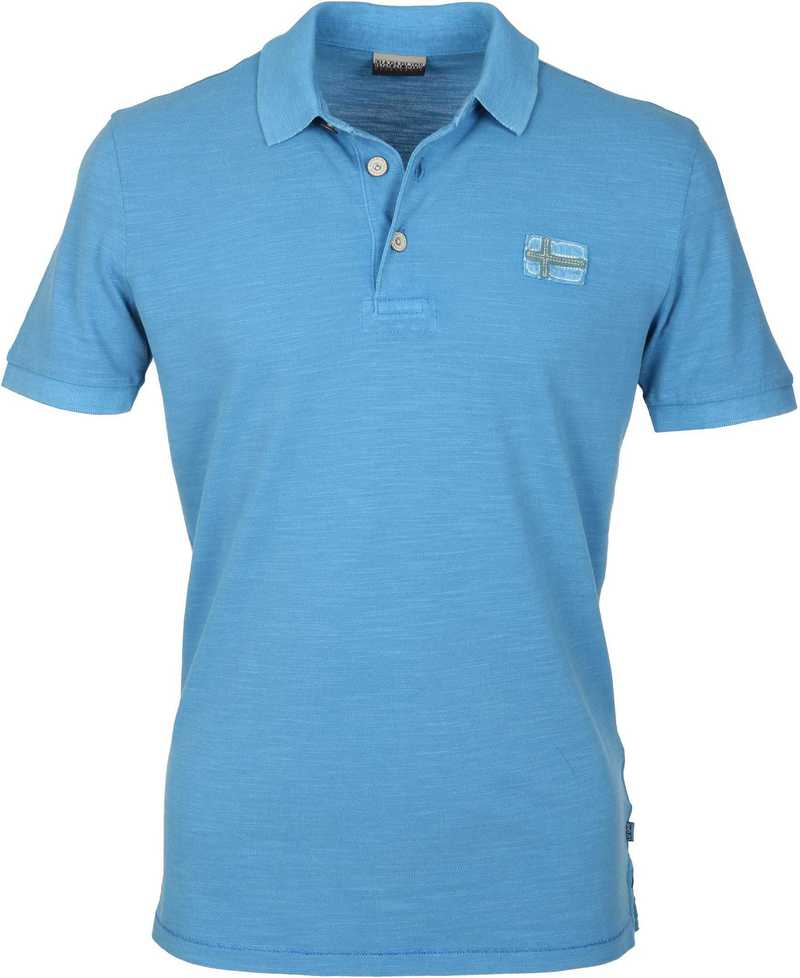Napapijri Polo Ever Blauw  online bestellen | Suitable