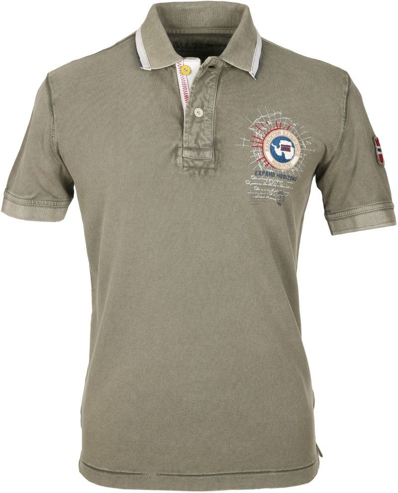 Napapijri Polo Gandy Khaki  online bestellen | Suitable