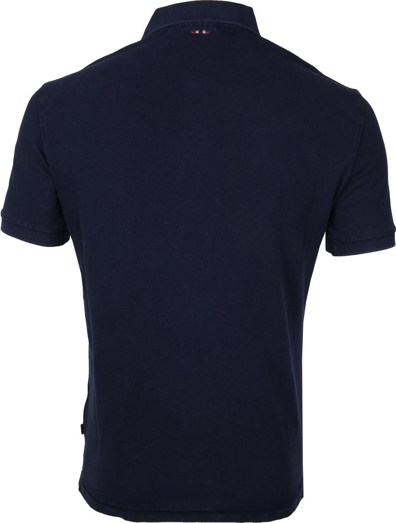 Napapijri Poloshirt Elbas 3 Dark Blue photo 3