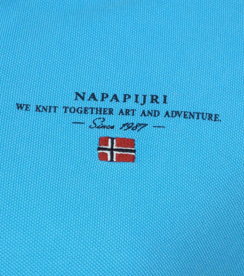 Napapijri Poloshirt Elbas 3 Turquoise photo 2