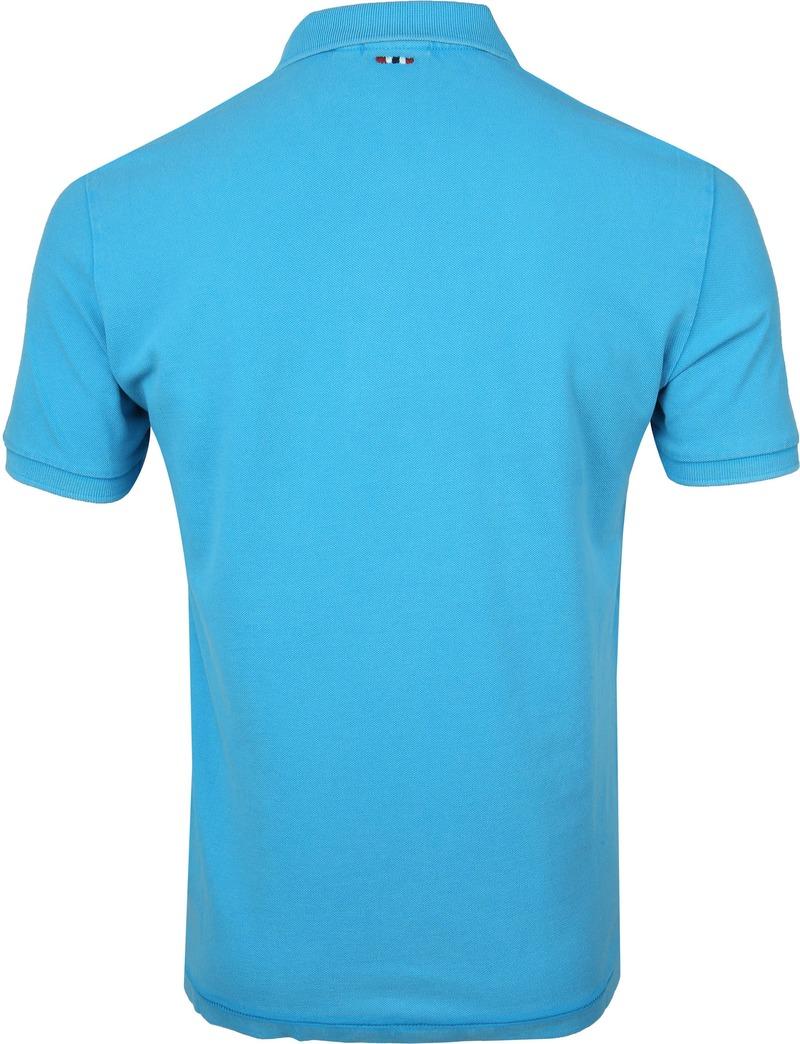Napapijri Poloshirt Elbas 3 Turquoise photo 3