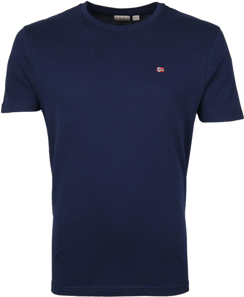 Napapijri Selios T-shirt Dunkelblau Foto 0