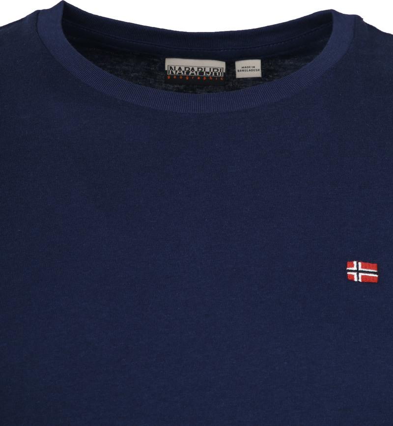 Napapijri Selios T-shirt Dunkelblau Foto 1