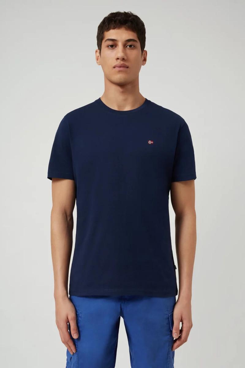 Napapijri Selios T-shirt Dunkelblau Foto 4
