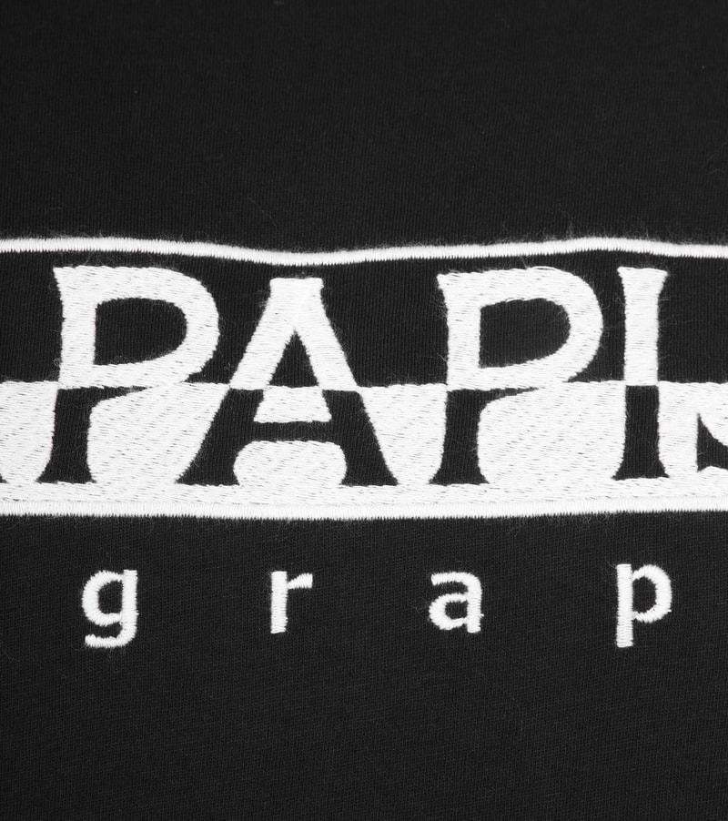 Napapijri Serber T-Shirt Black photo 2