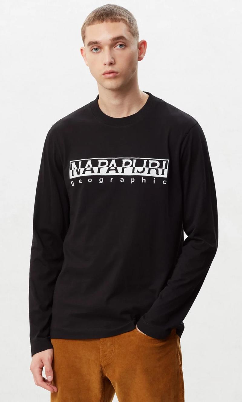 Napapijri Serber T-Shirt Black photo 4