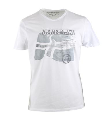 Napapijri Sinley Tshirt Wit  online bestellen | Suitable