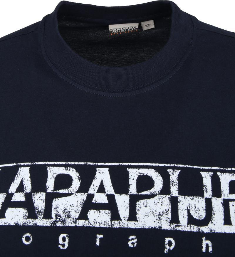 Napapijri Solanos T-shirt Dunkelblau Foto 1