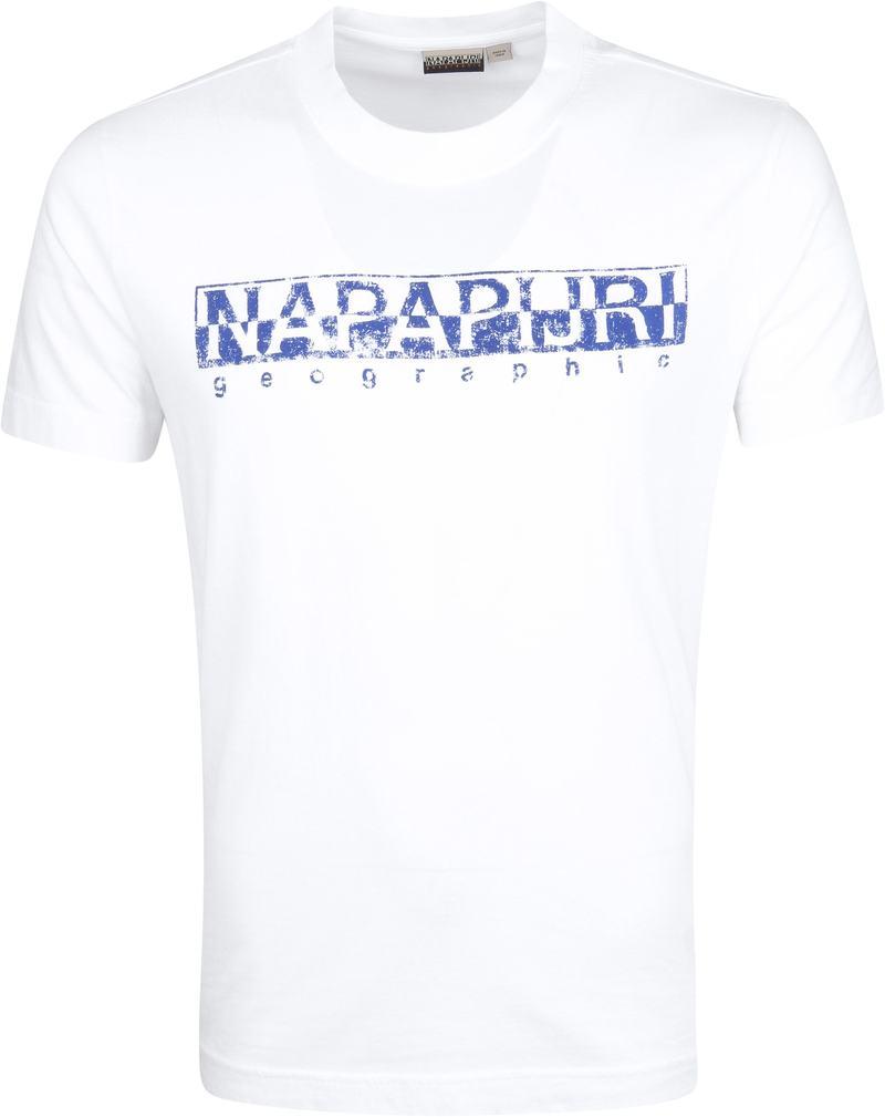 Napapijri Solanos T-shirt Weiß Foto 0