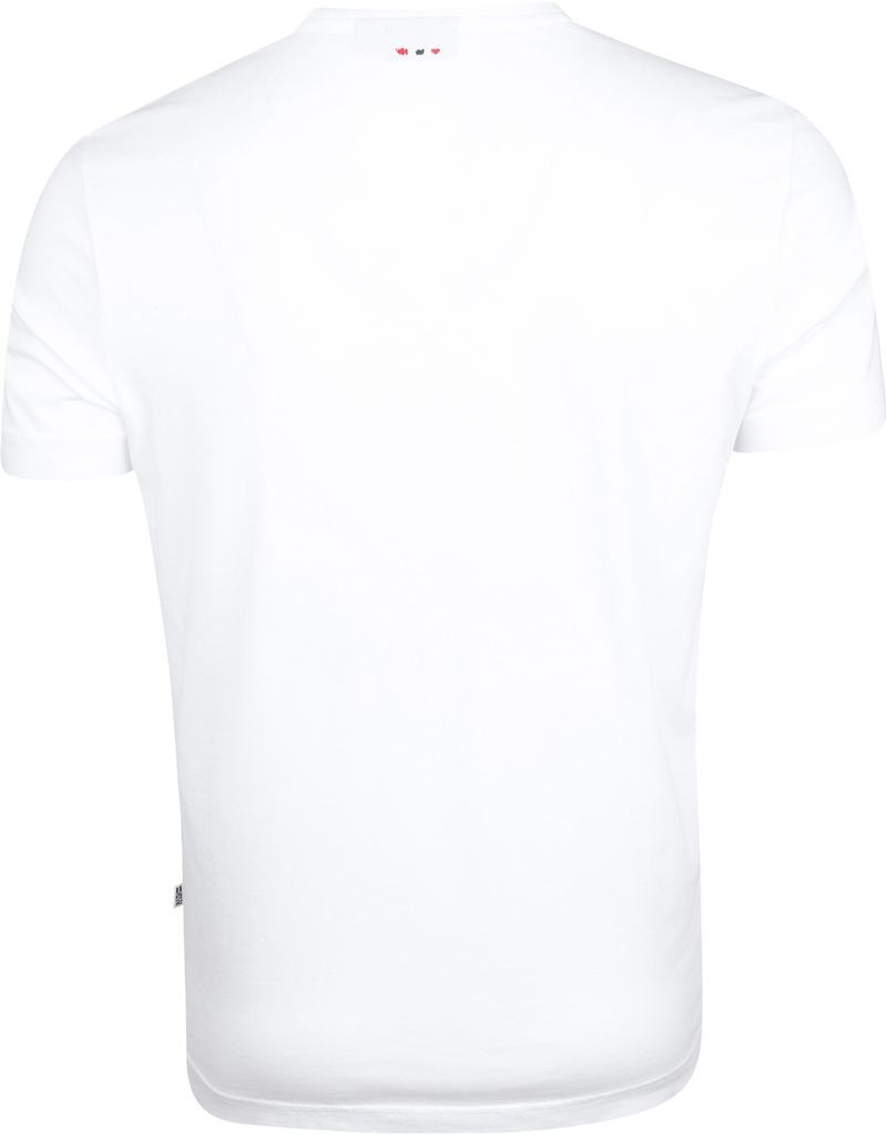 Napapijri Solanos T-shirt Weiß Foto 2