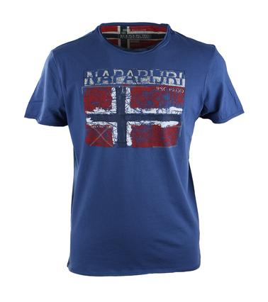 Napapijri Surl Tshirt Blauw  online bestellen | Suitable