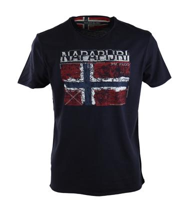 Napapijri Surl Tshirt Donkerblauw  online bestellen | Suitable