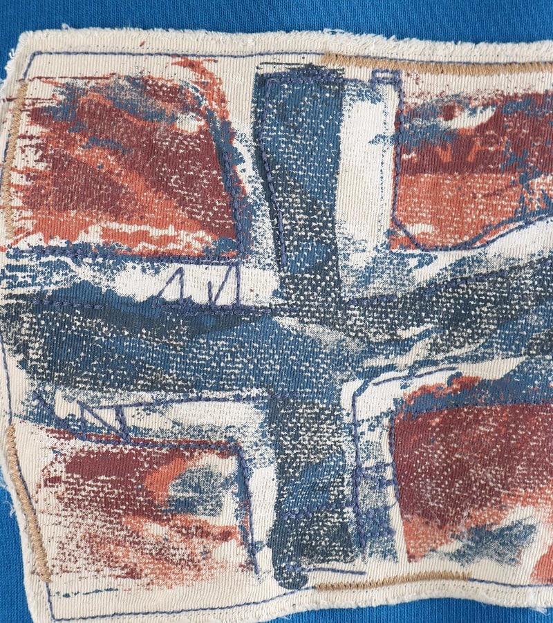 Detail Napapijri Sweater Babos Blauw