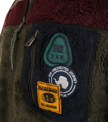 Detail Napapijri Yupik Fleece Trui