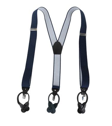 Navy-White Suspenders photo 1