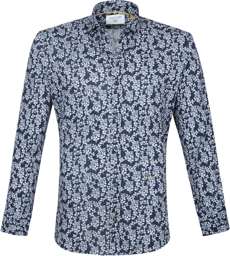 New In Town Casual Shirt Navy photo 0
