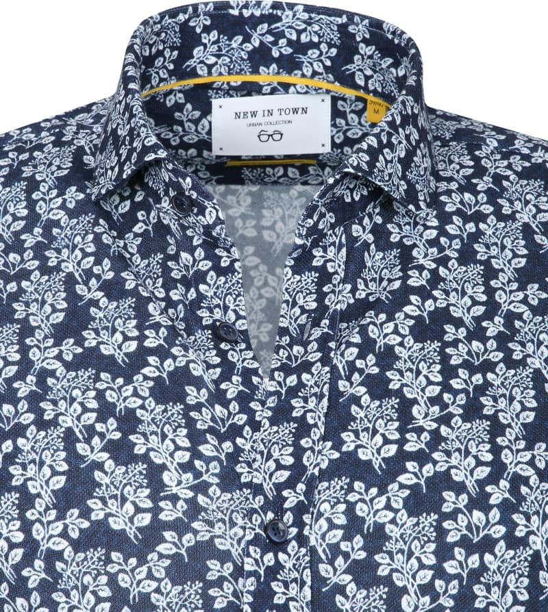 New In Town Casual Shirt Navy photo 1