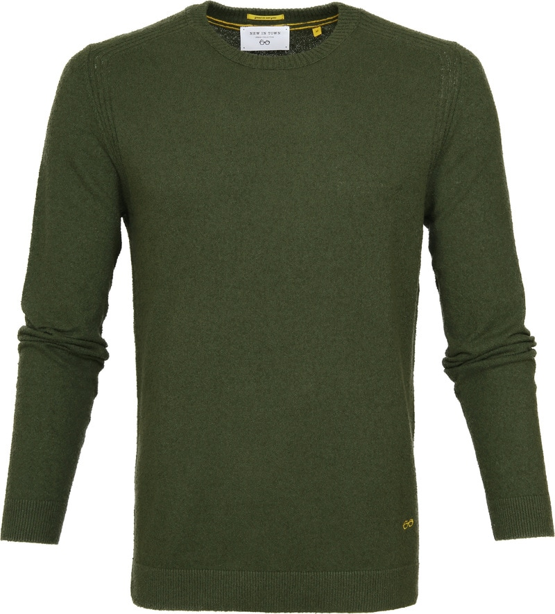 New In Town Green Sweater photo 0
