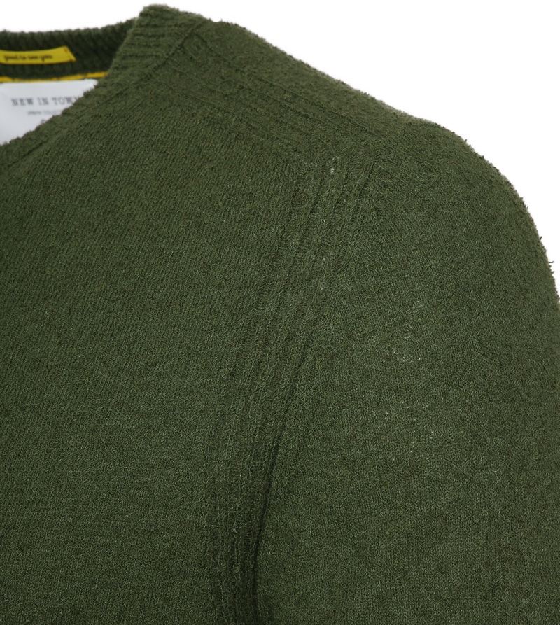 New In Town Green Sweater photo 1